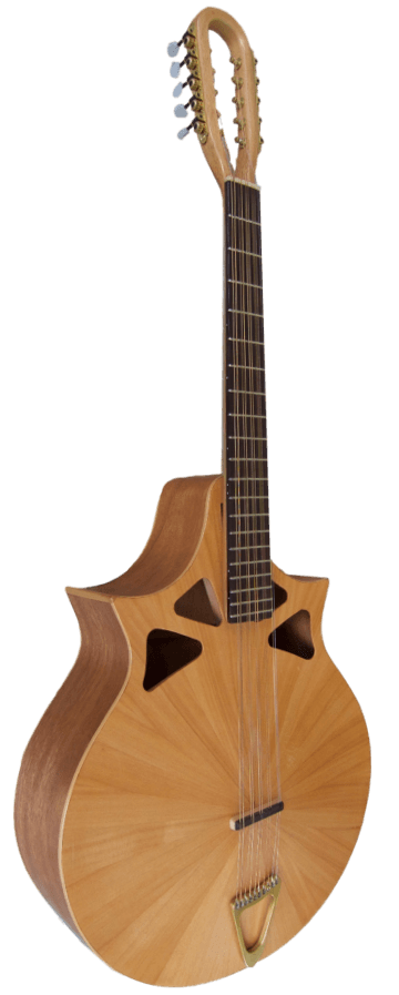 10-string cittern front one third